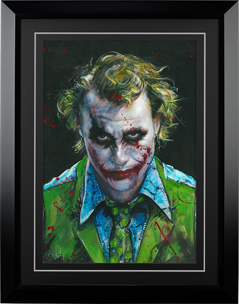 Ozone Productions Why So Serious Art Print