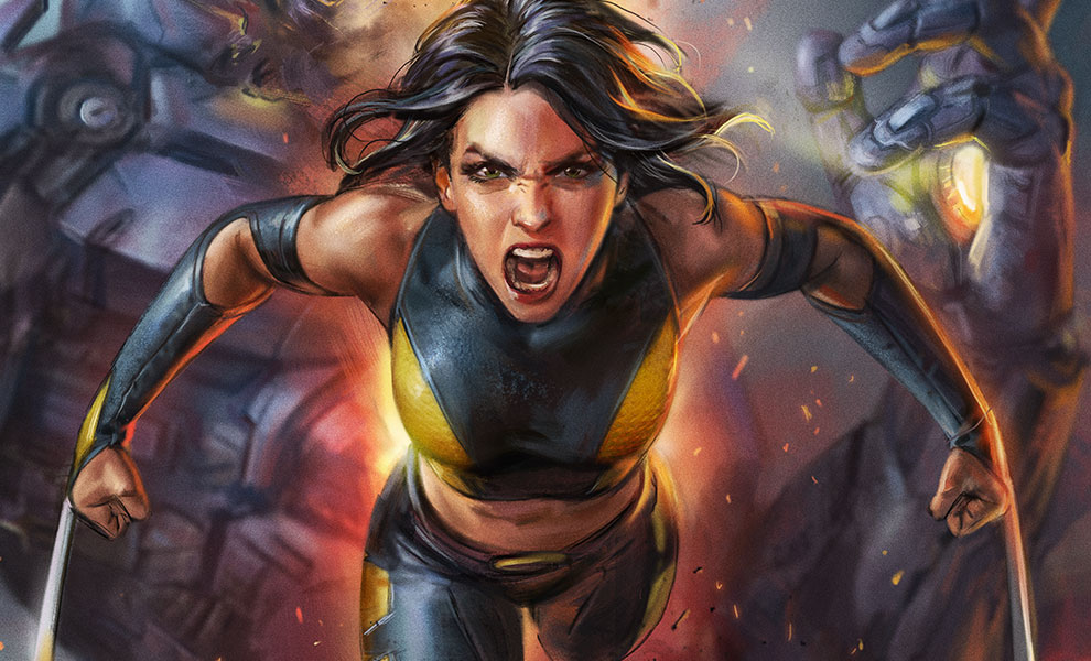 Gallery Feature Image of X-23 HD Aluminum Metal Variant Art Print - Click to open image gallery