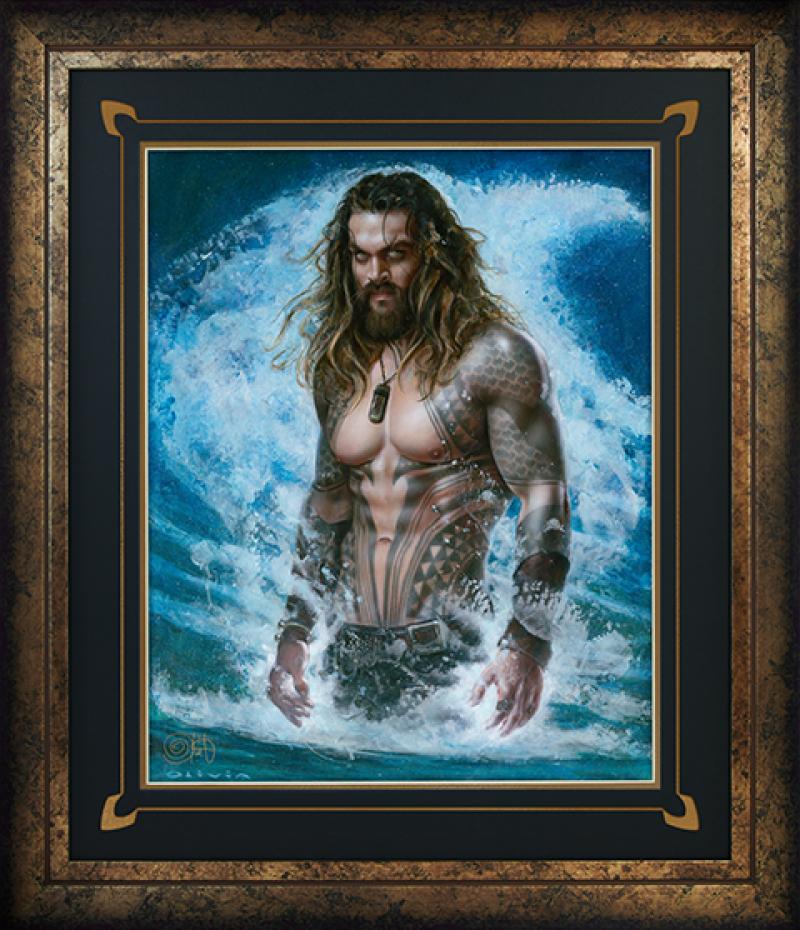 Aquaman Permission to Come Aboard Art Print -