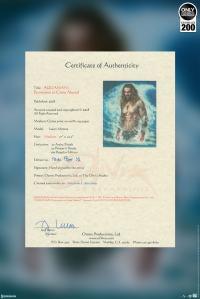 Gallery Image of Aquaman Permission to Come Aboard Art Print