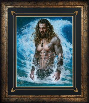 Aquaman Permission to Come Aboard Art Print