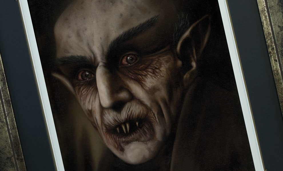 Gallery Feature Image of Nosferatu Art Print - Click to open image gallery