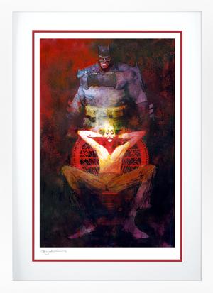 The Dark Knight Returns: The Last Crusade Art Print