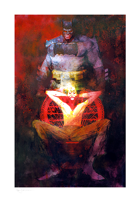 Bill Sienkiewicz The Dark Knight Returns: The Last Crusade Art Print