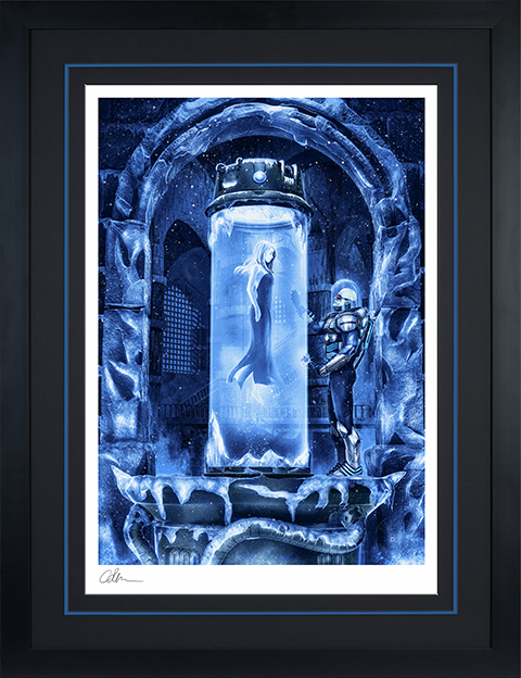 Sideshow Collectibles Mr. Freeze: Heart of Ice Art Print