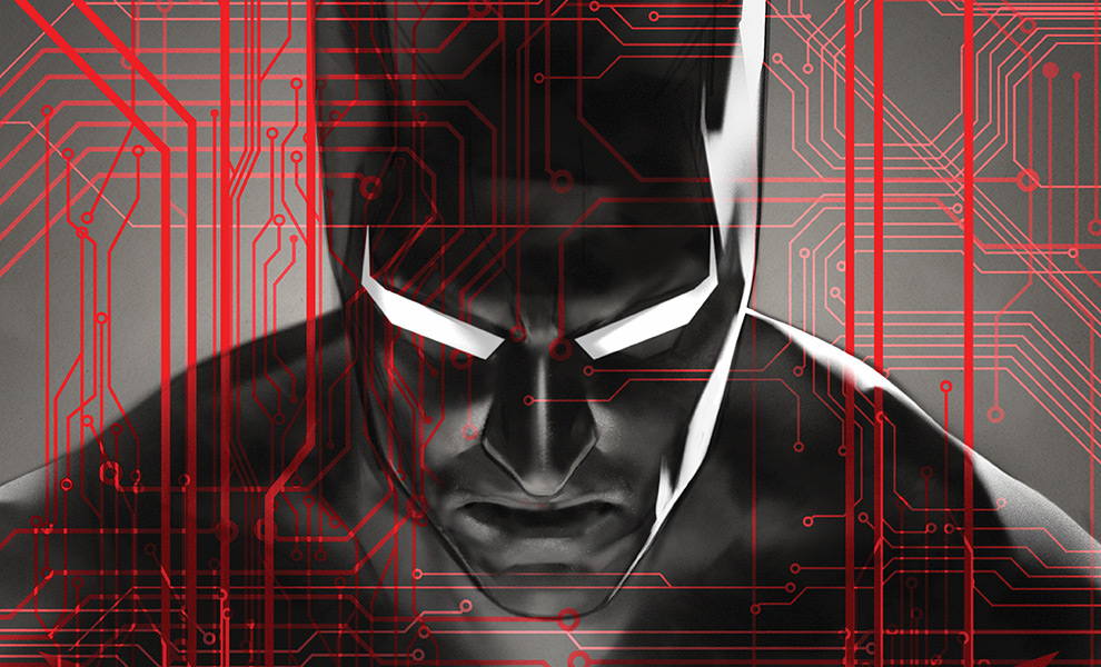 Gallery Feature Image of Batman Beyond Art Print - Click to open image gallery