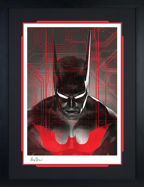 Sideshow Collectibles Batman Beyond Art Print