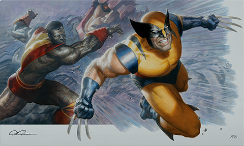 Sideshow Collectibles Fastball Special! HD Aluminum Metal Variant Art Print