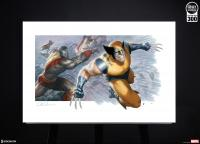 Gallery Image of Fastball Special! Art Print