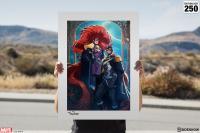 Gallery Image of Black Bolt & Medusa Art Print