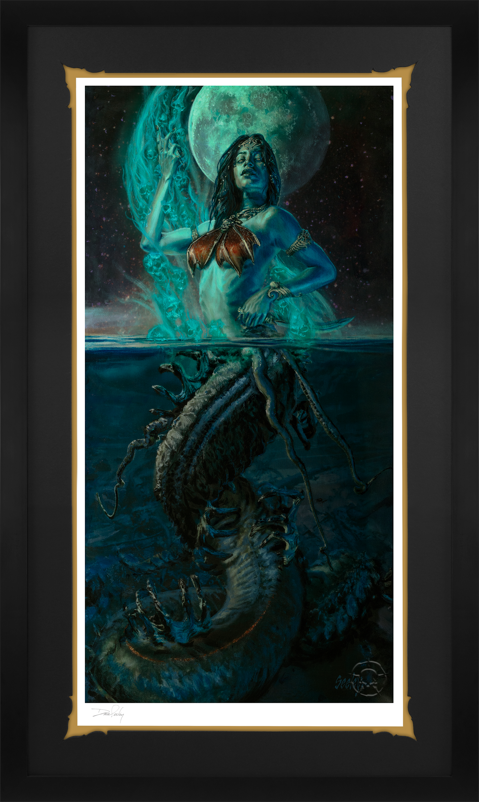 Sideshow Collectibles Gallevarbe: Beyond the Veils Art Print