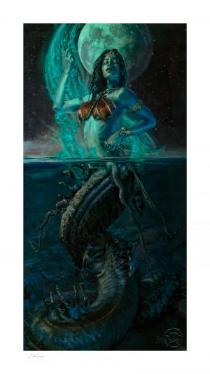 Gallevarbe: Beyond the Veils Art Print