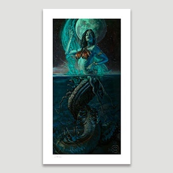 Gallevarbe: Beyond the Veils Art Print
