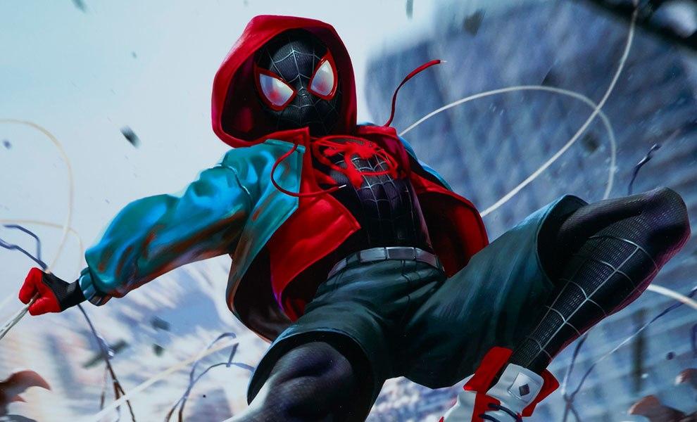 Marvel Ultimate Spider Man Venom War Art Print By Sideshow C Sideshow