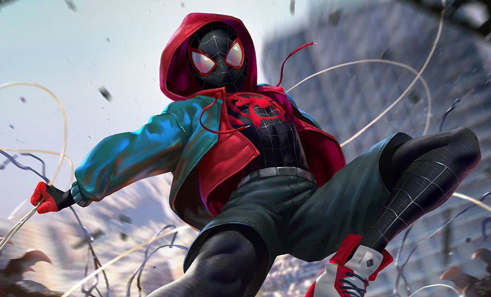 Ultimate Spider-Man Miles Morales Art Print feature image