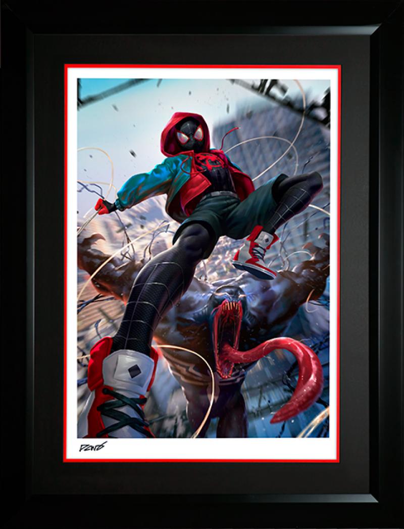 Ultimate Spider-Man Miles Morales Art Print -