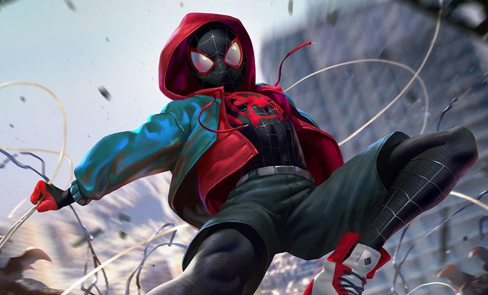 Marvel Ultimate Spider-Man Venom War Art Print by Sideshow C   Sideshow  Fine Art Prints