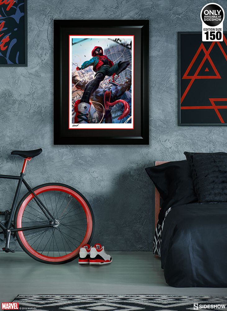 Difabio: Spider Man Miles Room