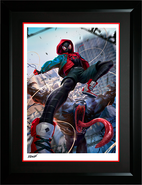 Sideshow Collectibles Ultimate Spider-Man Miles Morales Art Print