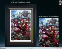 Gallery Image of House Party Protocol HD Aluminum Metal Variant Art Print