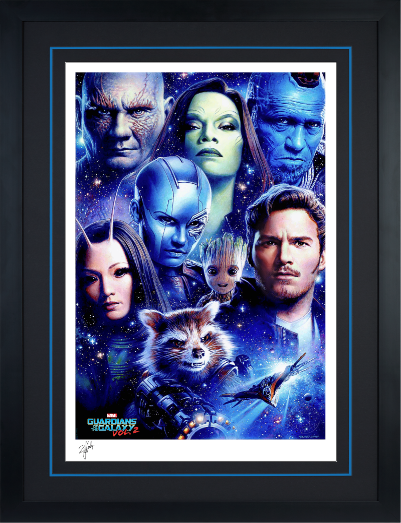 Guardians of the Galaxy Vol 2 Art Print -