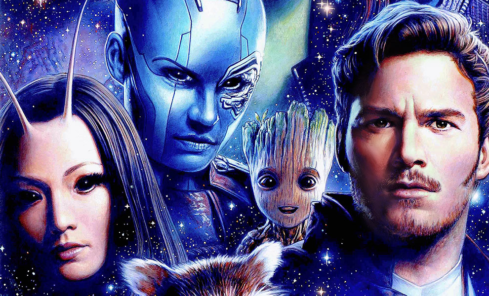 Gallery Feature Image of Guardians of the Galaxy Vol 2 Art Print - Click to open image gallery