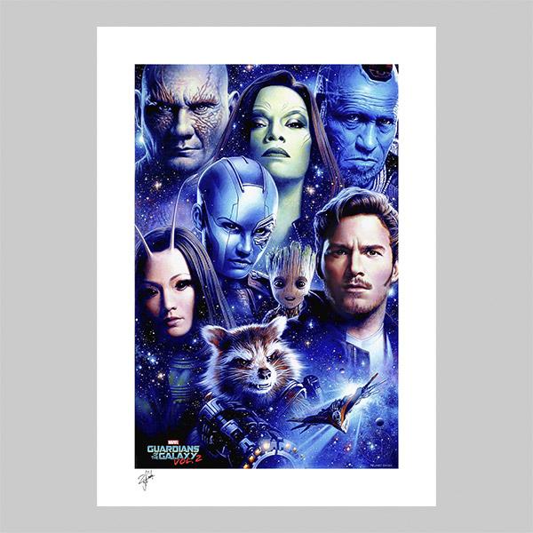 Guardians of the Galaxy Vol 2 Art Print