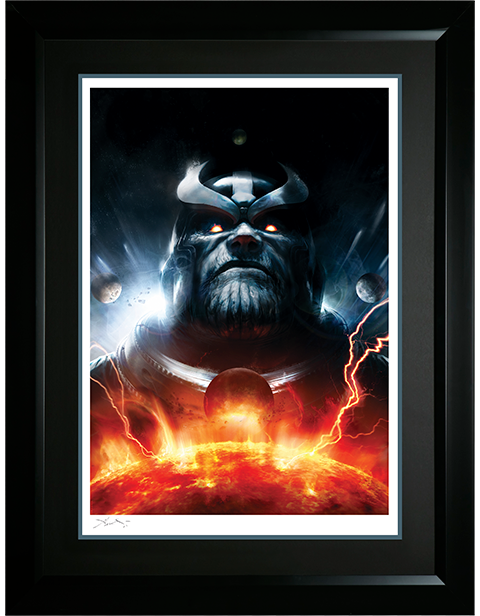 Sideshow Collectibles The Thanos Imperative Ignition Art Print