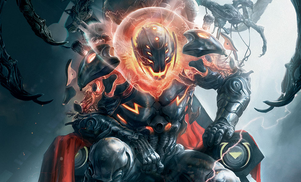 Gallery Feature Image of Ultron Annihilation Conquest Art Print - Click to open image gallery