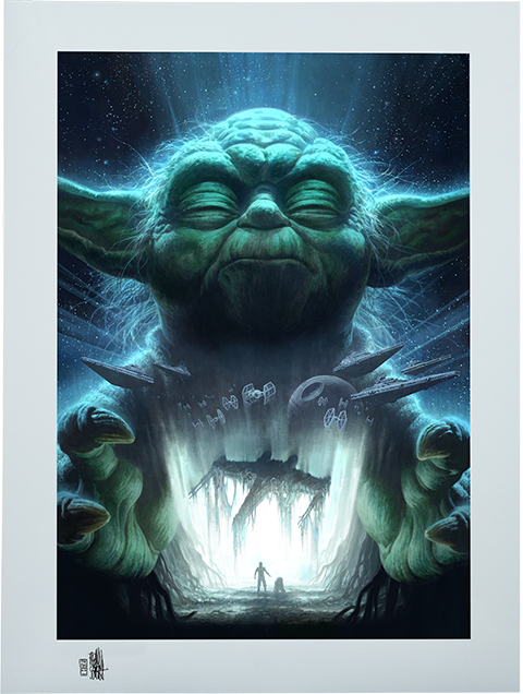 ACME Archives Luminous Beings Are We Art Print