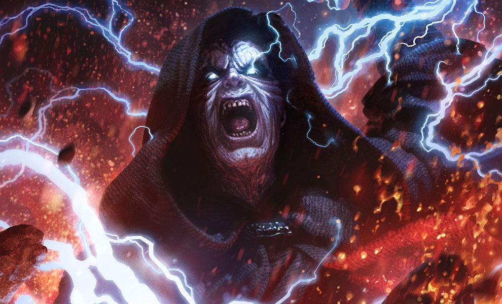 Gallery Feature Image of Darth Sidious: Unlimited Power Art Print - Click to open image gallery