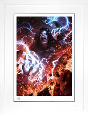 Darth Sidious: Unlimited Power Art Print