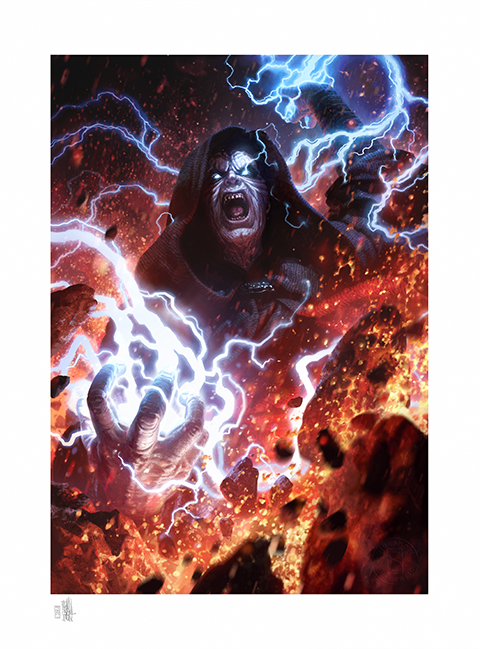 Sideshow Collectibles Darth Sidious: Unlimited Power Art Print