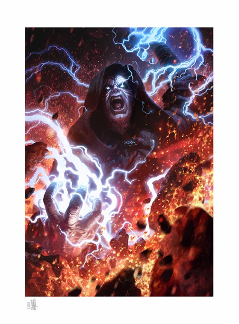 Darth Sidious: Unlimited Power Art Print -