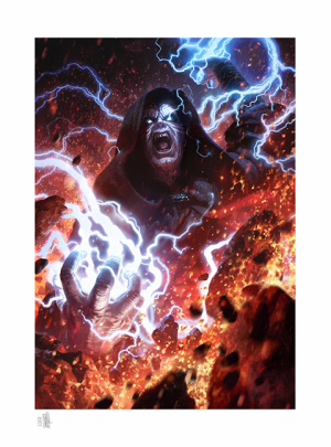 Darth Sidious: Unlimited Power Art Print