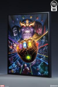 Gallery Image of Thanos & Infinity Gauntlet Art Print