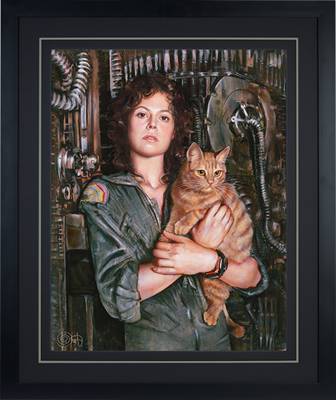 Ozone Productions Ripley Art Print