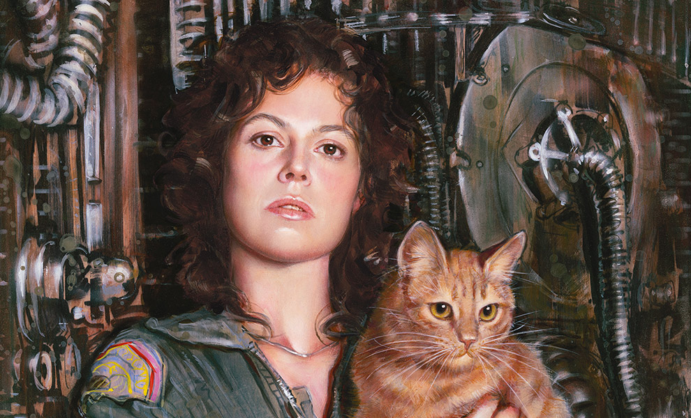 Gallery Feature Image of Ripley Art Print - Click to open image gallery