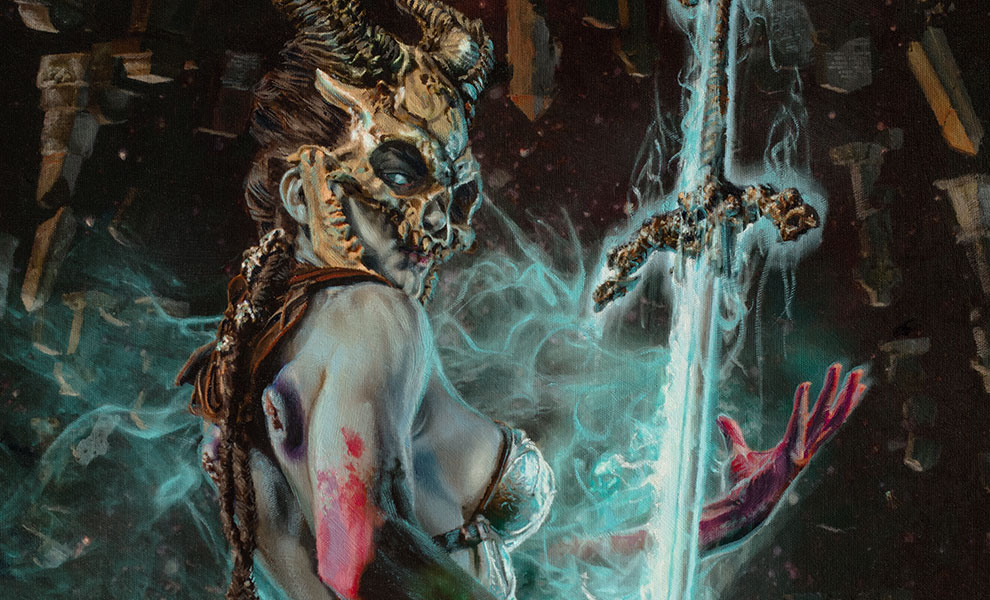 Gallery Feature Image of Kier: Vision of Vengeance Art Print - Click to open image gallery
