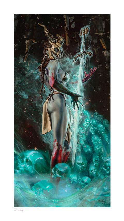 Sideshow Collectibles Kier: Vision of Vengeance Art Print