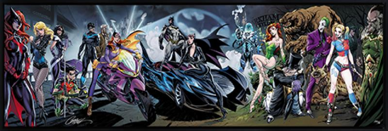 Batman #50 Art Print - Deluxe Fine Art Print