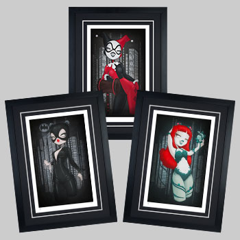 Gotham Girls Art Print