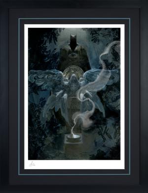 The Birth of Batman Art Print