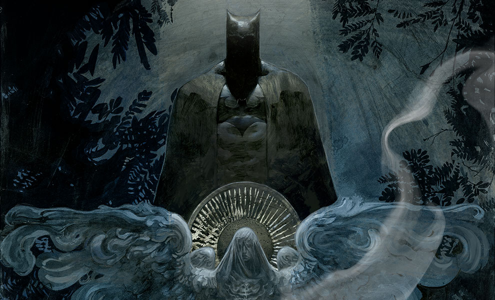 Gallery Feature Image of The Birth of Batman Art Print - Click to open image gallery