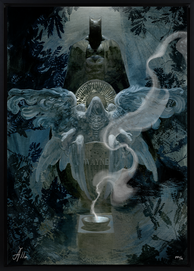 The Birth of Batman Art Print -