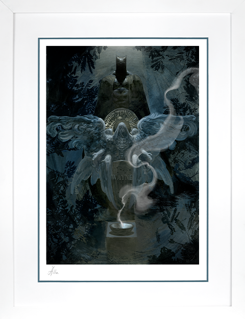 Sideshow Collectibles The Birth of Batman Art Print