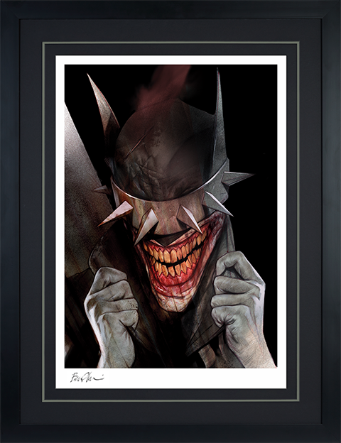 Sideshow Collectibles The Batman Who Laughs Art Print