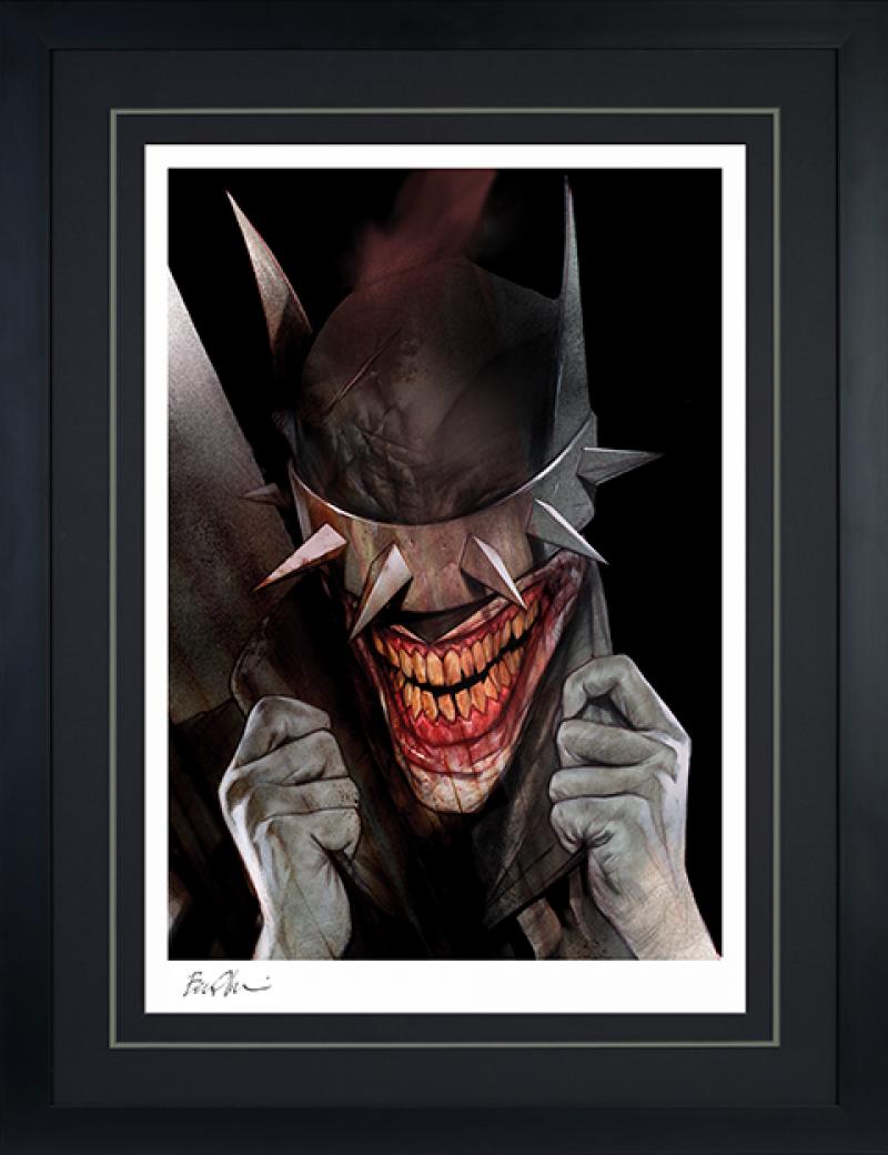 The Batman Who Laughs Art Print -