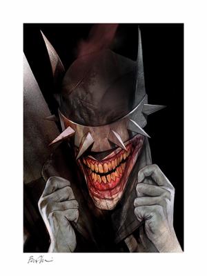 The Batman Who Laughs Art Print