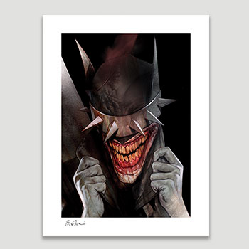 The Batman Who Laughs Art Print